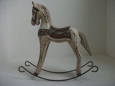 caballo de oscilación para la decoración del hogar