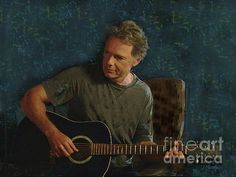 """Bruce Greenwood playing guitar on a summer evening. Inspired by the film """"And Now a Word From Our Sponsor.""""  This was a touching and very beautiful piece of music in this film. I have to say that if I had a neighbor who sat out on his terrace and played such beautiful music that I would leave my windows open all night to listen to him play. This scene will truly touch your heart and soul and stay with you for a long time."""