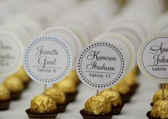 Wedding Reception Ferrero Rocher by DesignsByDirection,