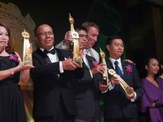#TheBrandLaureate #SME Award 2016 Trophies made from 24k #gold Shining #moment!
