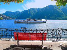 озеро Лугано, Швейцария
