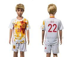 http://www.yjersey.com/22-isco-away-youth-euro-2016-jersey-spain.html Only$35.00 22 ISCO AWAY YOUTH EURO #2016 JERSEY SPAIN Free Shipping!