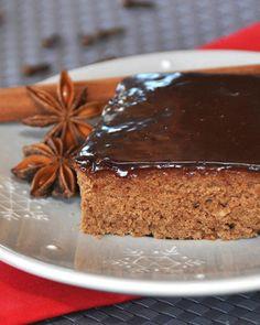 Schokolebkuchen-Schnitten Rezept - SONNENTOR.com Truffles, Tiramisu, Brownies, Pancakes, Muffins, Goodies, Food And Drink, Pie, Pudding