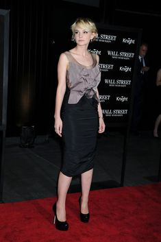 The Genteel perfection of Carey Mulligan ...Fashionable Hairstyles ...