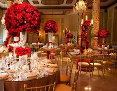 Wedding Color Board: Golden Red Romance | Gold Weddings | Pinterest ...