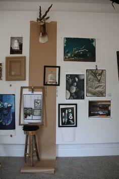 Rustic industrial artist studio showroom atelier Image from https://s-media-cache-ak0.pinimg.com/236x/50/0f/d6/500fd6447f0fc635e510828ba49e3f2d.jpg.