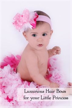 Great Place to buy hair bows and headbands for little girls and babies..