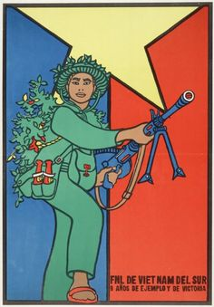 Vietnam War era poster (c. 1970)  Source: Wisconsin Historical Society