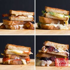 Best-Ever Grilled Cheese Sandwiches The Best-Ever Grilled Cheese Sandwich Recipe Tasty Videos, Food Videos, Grill Cheese Sandwich Recipes, Brie Sandwich, Best Sandwich Recipes, Steak Sandwiches, Grilled Sandwich, Burger Recipes, Best Grilled Cheese