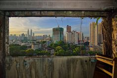 Abandoned Pekeliling Flat, Kuala Lumpur, Malaysia.