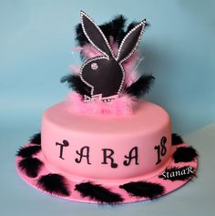 Playboy Cake Design : Girls birthday cakes on Pinterest Barbie Cake, Princess ...