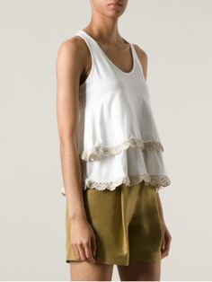 Layered top by Stella Pardo.