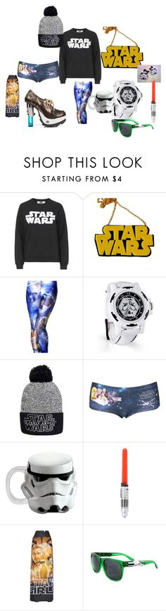"""""""Starr Wars"""" by daisy-owens on Polyvore featuring Tee and Cake, Chicnova Fashion, Topshop, GE, Vandor and Vetements"""