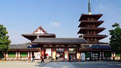 Shitennō-ji Temple, Osaka, Japan