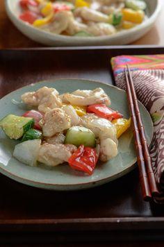 How to make Korean Sweet and Sour Pork, 탕수육