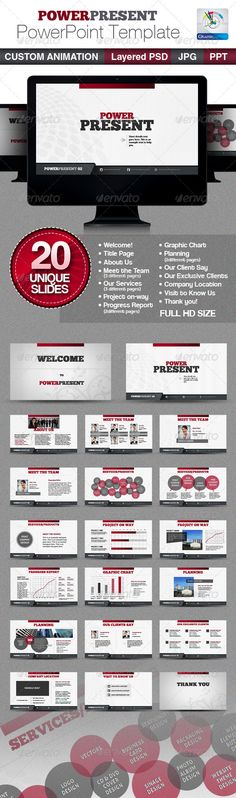 PowerPresent PowerPoint Templates