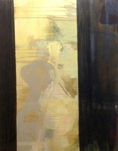 Cathrine Boman - Utsikt - Acryl på lerret, 90 x 100 cm
