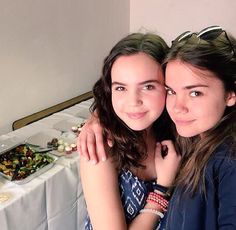 Bailee Madison and Maia Mitchell