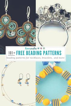 All kinds of free beading patterns
