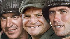 Telly Savalas, Don Rickles, Clint Eastwood - KELLY'S HEROES