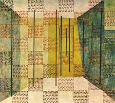 Klee [1879-1940] has been variously associated with expressionism, cubism, futurism, surrealism, and abstraction, but his pictures are difficult to classify. He generally worked in isolation from his peers, and interpreted new art trends in his own way. He was inventive in his methods and technique.