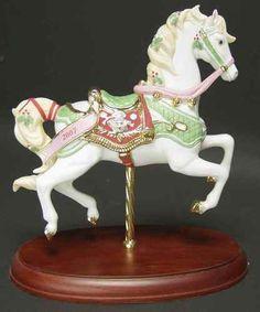 Lenox Christmas Carousel Animals 2007 Horse