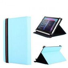 Capa Tablet 8 Polegadas - Função Stand com Fecho - Azul Claro  R$35,44