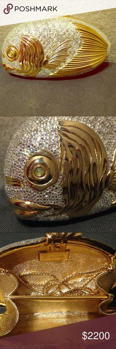 Beautiful Judith leiber koi fish bag !!! Beautiful collectors piece and a total conversation starter Judith Leiber Bags