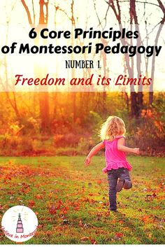 I Believe in Montessori: 6 Core Principles of Montessori Pedagogy. Number 1. Freedom and its limits