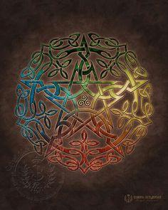 Celtic design, just