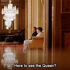 Here to see the Queen?