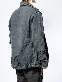 Greg Lauren куртка на молнии