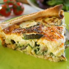 Zucchini Quiche Recipe from Grandmothers Kitchen