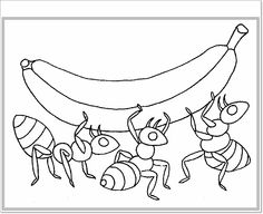 Ant coloring page | Download Free Ant coloring page for kids | Best ...