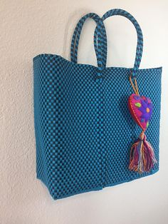 Mexican market bag from Oaxaca. The bag is great for daily use.