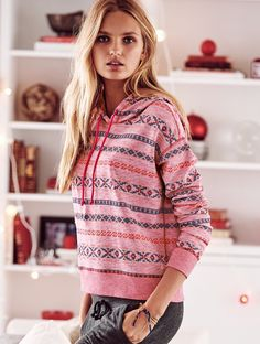 Victoria's Secret winter clothing. Holiday 2015.