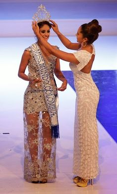 Jessica Leandra García Crowned Miss World Colombia 2014