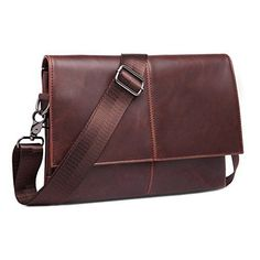 Mens Vintage Leather Messenger Bag Cross-body Casual Day Bag Women Daypack  Sling  fashion fd10a38836