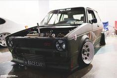 VW #Volkswagen #GTI #Rabbit #stanced #Steelies