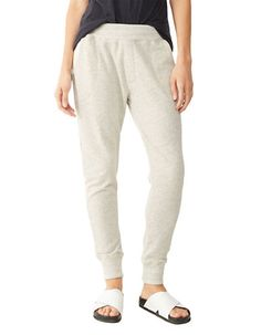 Loungewear gets a luxe upgrade with ankle-hugging cuffs and a soft, organic cotton cut.