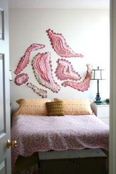 Ruffle Wall Art