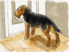Welsh Terrier art