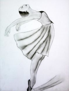 balerina as image to the paint after