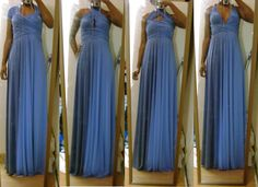Infinitiy Dress Tutorial, excellent idea for bridesmaid dresses they may actually wear again
