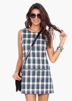 Prepster Plaid Dress | Shop for Prepster Plaid Dress Online