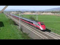 Transiti di ETR 500 presso Civitella d'Agliano - ETR 500 running near Civitella d'Agliano