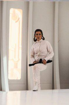 Leia Organa, Princess of Alderaan -- prisoner of the Empire
