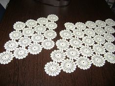 Handmade Floral Doilies Assorted Crocheted Doilies Set of 2 Doilies, Trending Outfits, Lace, Unique Jewelry, Handmade Gifts, Floral, Etsy, Vintage, Women