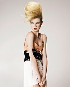 Philip Bell #BHA 2011 Scottish Ishoka Hairdressing and Beauty - Creative hairdressers #Blonde #Updo #Hairstyle
