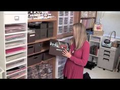 Craft Room Tour from Brandy Cox - Independent Stampin' Up! demonstrator - YouTube